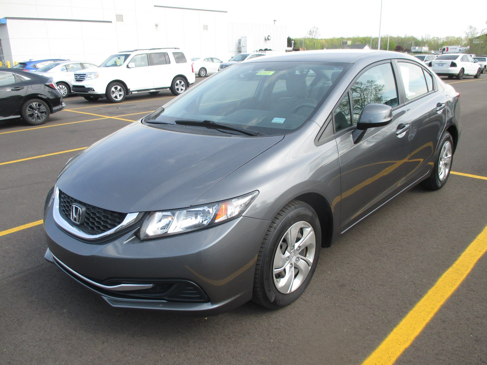 Pre-Owned 2013 Honda Civic Sdn LX