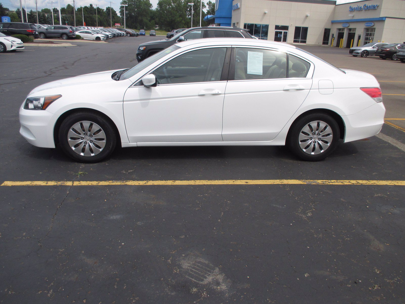 Pre-Owned 2012 Honda Accord Sdn LX