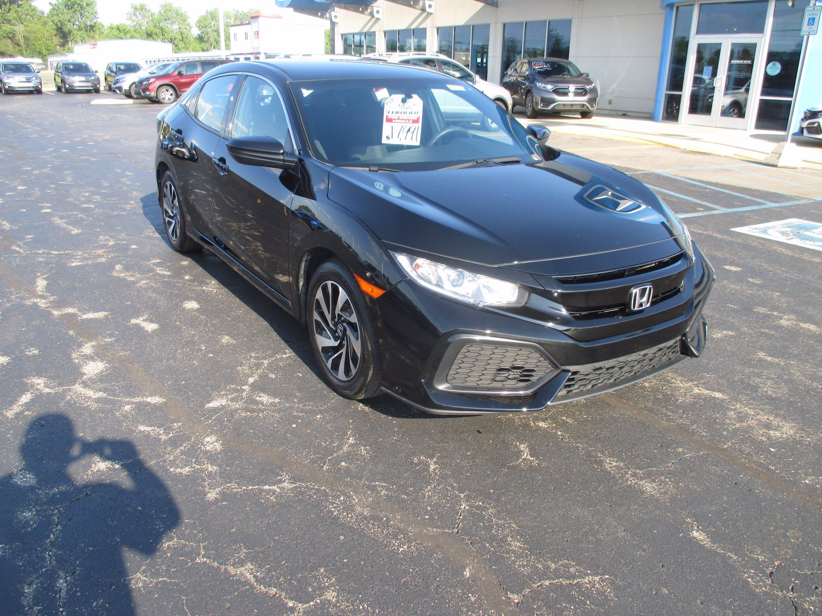 Certified Pre-Owned 2018 Honda Civic Hatchback LX